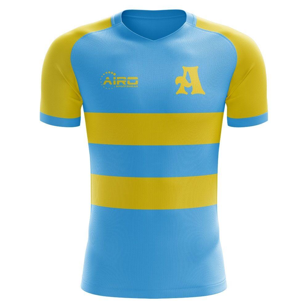 Airo Sportswear 2020-2021 Astana Home Concept Football Shirt - Womens - Purple - female - Size: Large - UK Size 14