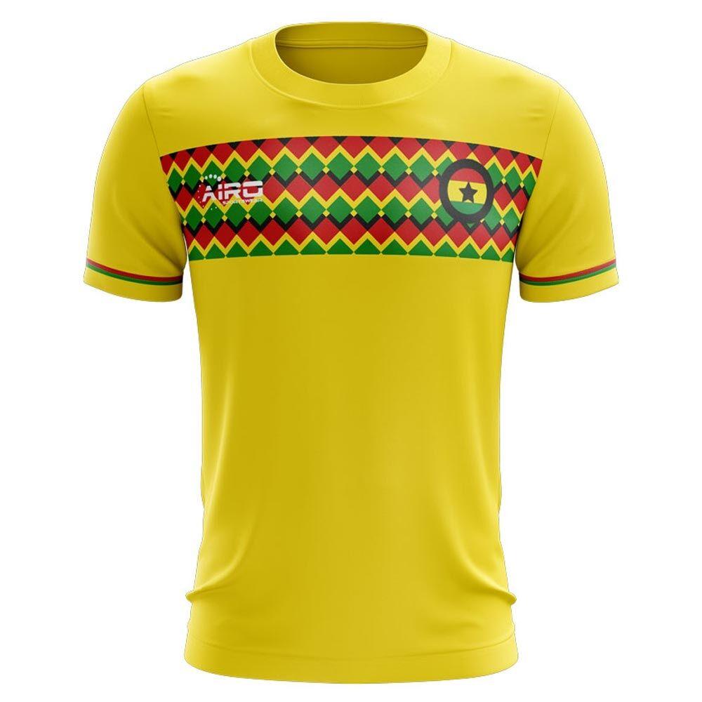 Airo Sportswear 2020-2021 Ghana Third Concept Football Shirt - Womens - White - female - Size: Large - UK Size 14