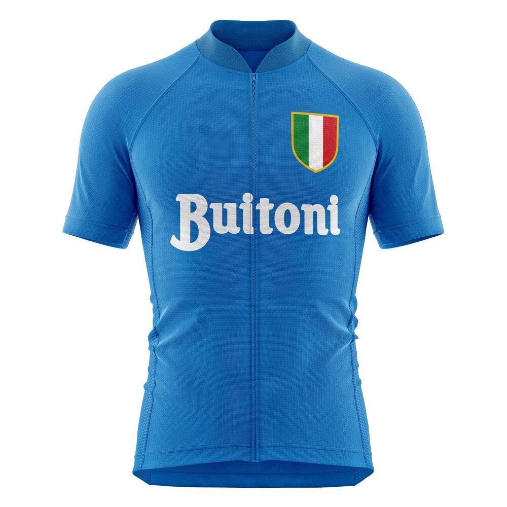 Airo Sportswear Napoli 1986 Concept Cycling Jersey - Womens - Blue - female - Size: XS - UK Size 6/8