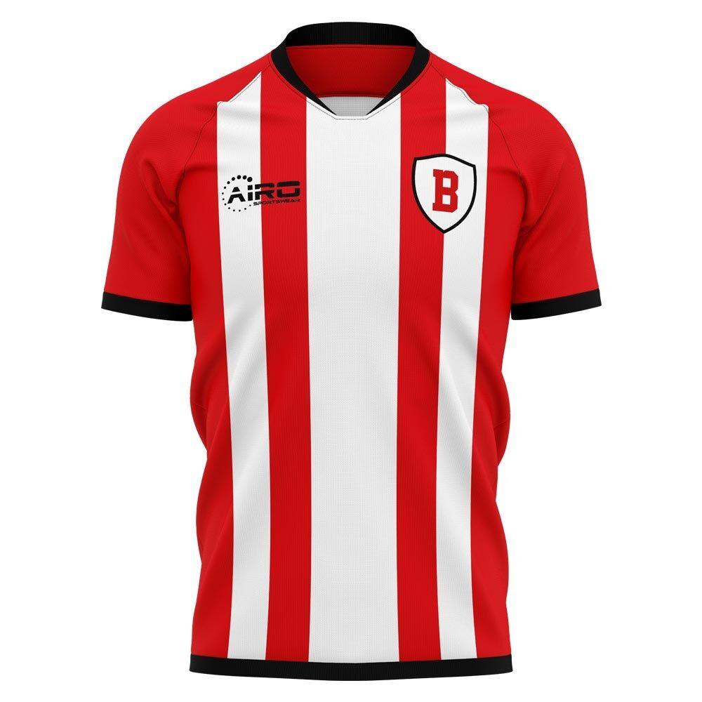 Airo Sportswear 2020-2021 Brentford Classic Concept Football Shirt - Womens - Black - female - Size: Small - UK Size 10