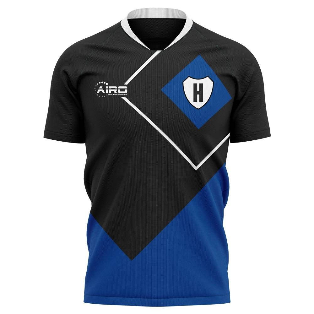 Airo Sportswear 2020-2021 Hamburg Away Concept Football Shirt - Womens - White - female - Size: XL - UK Size 16