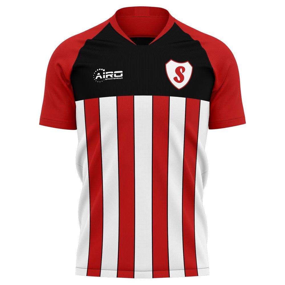 Airo Sportswear 2020-2021 Southampton Home Concept Football Shirt - Womens - Blue - female - Size: XS - UK Size 6/8