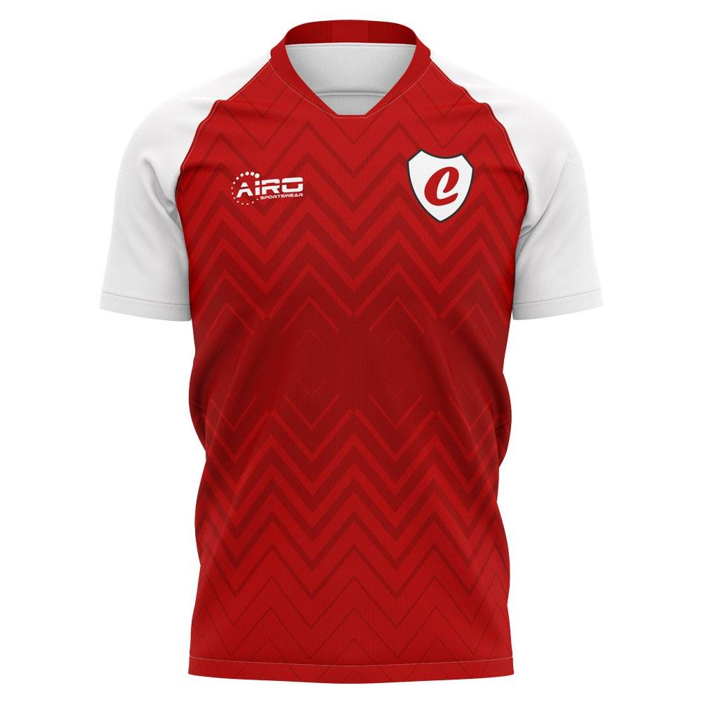 Airo Sportswear 2020-2021 Charlton Home Concept Football Shirt - Womens - Blue - female - Size: Large - UK Size 14