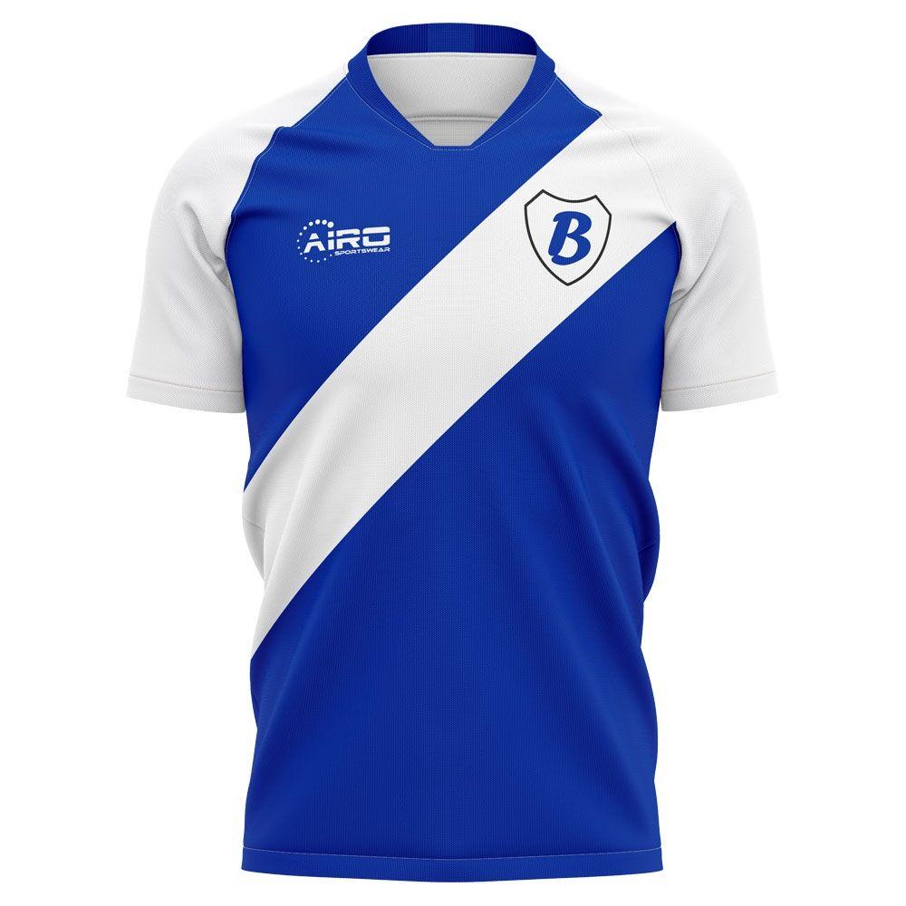 Airo Sportswear 2020-2021 Birmingham Home Concept Football Shirt - Womens - Blue - female - Size: Large - UK Size 14
