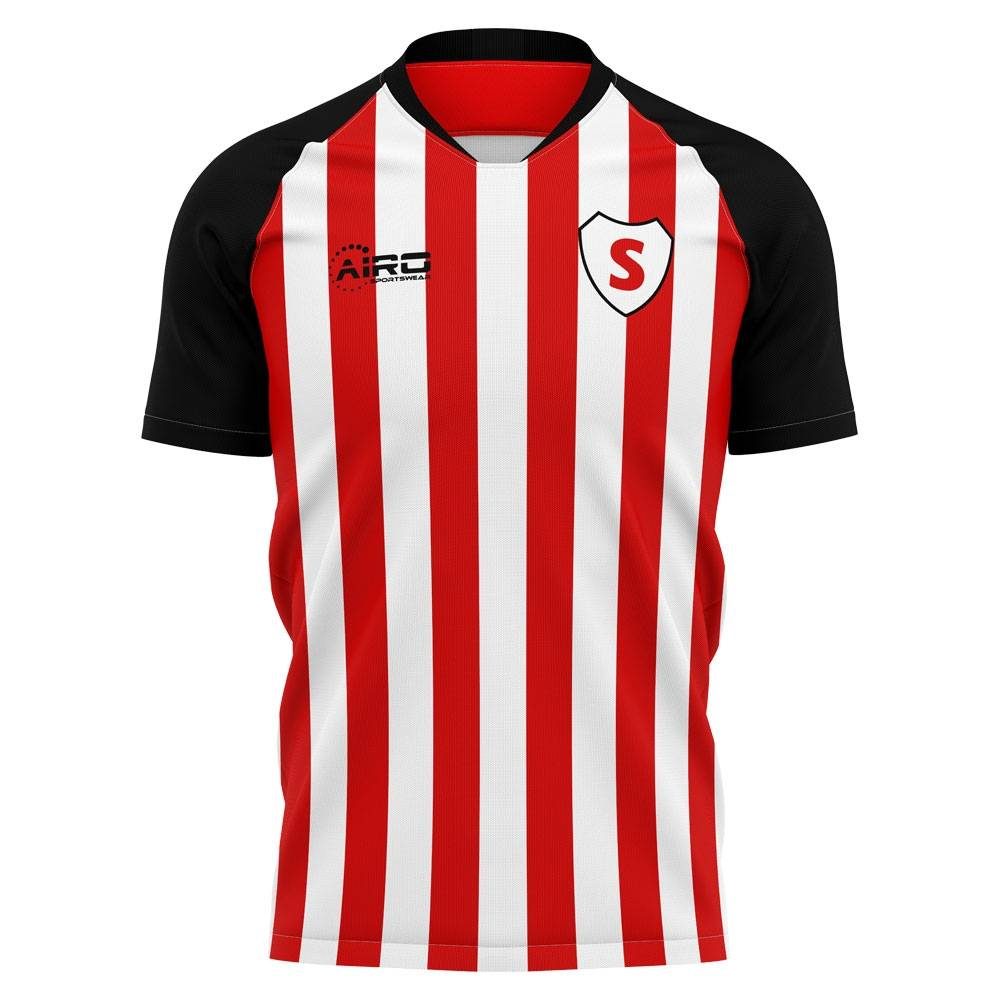 Airo Sportswear 2020-2021 Sunderland Home Concept Football Shirt - Womens - Red - female - Size: XXL - UK Size 18