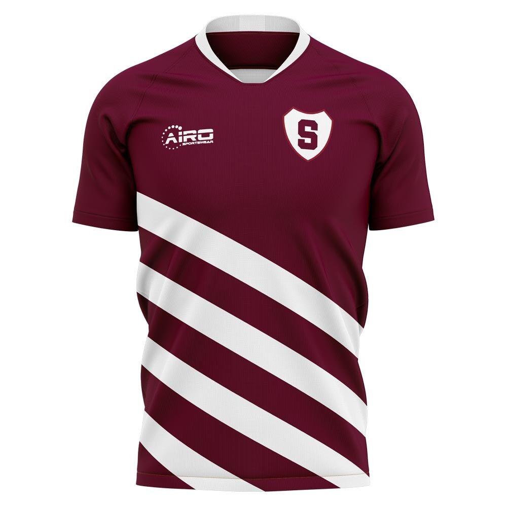 Airo Sportswear 2020-2021 Sparta Prague Home Concept Football Shirt - Womens - Yellow - female - Size: Medium - UK Size 12