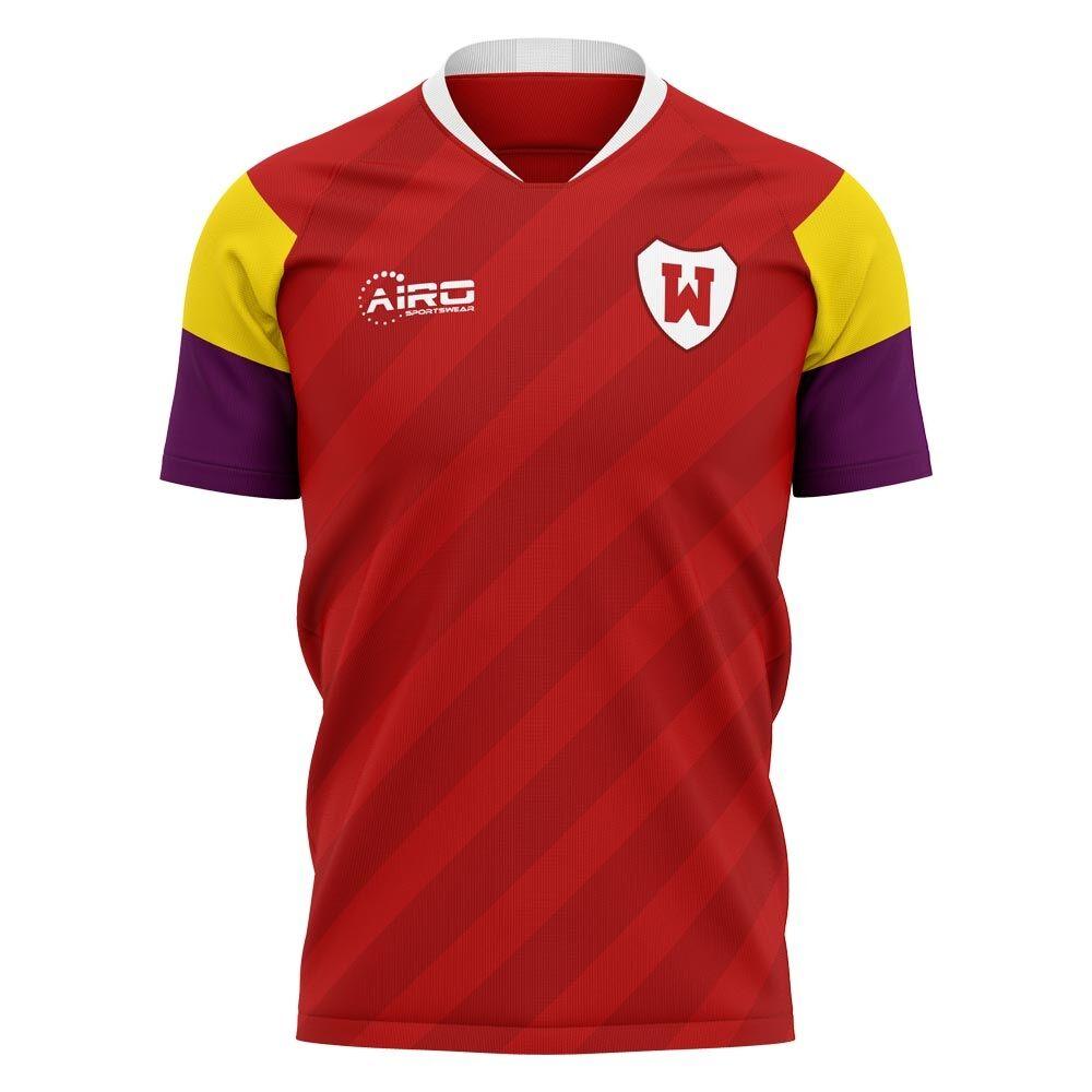 Airo Sportswear 2020-2021 Wrexham Home Concept Football Shirt - Womens - Yellow - female - Size: XL - UK Size 16