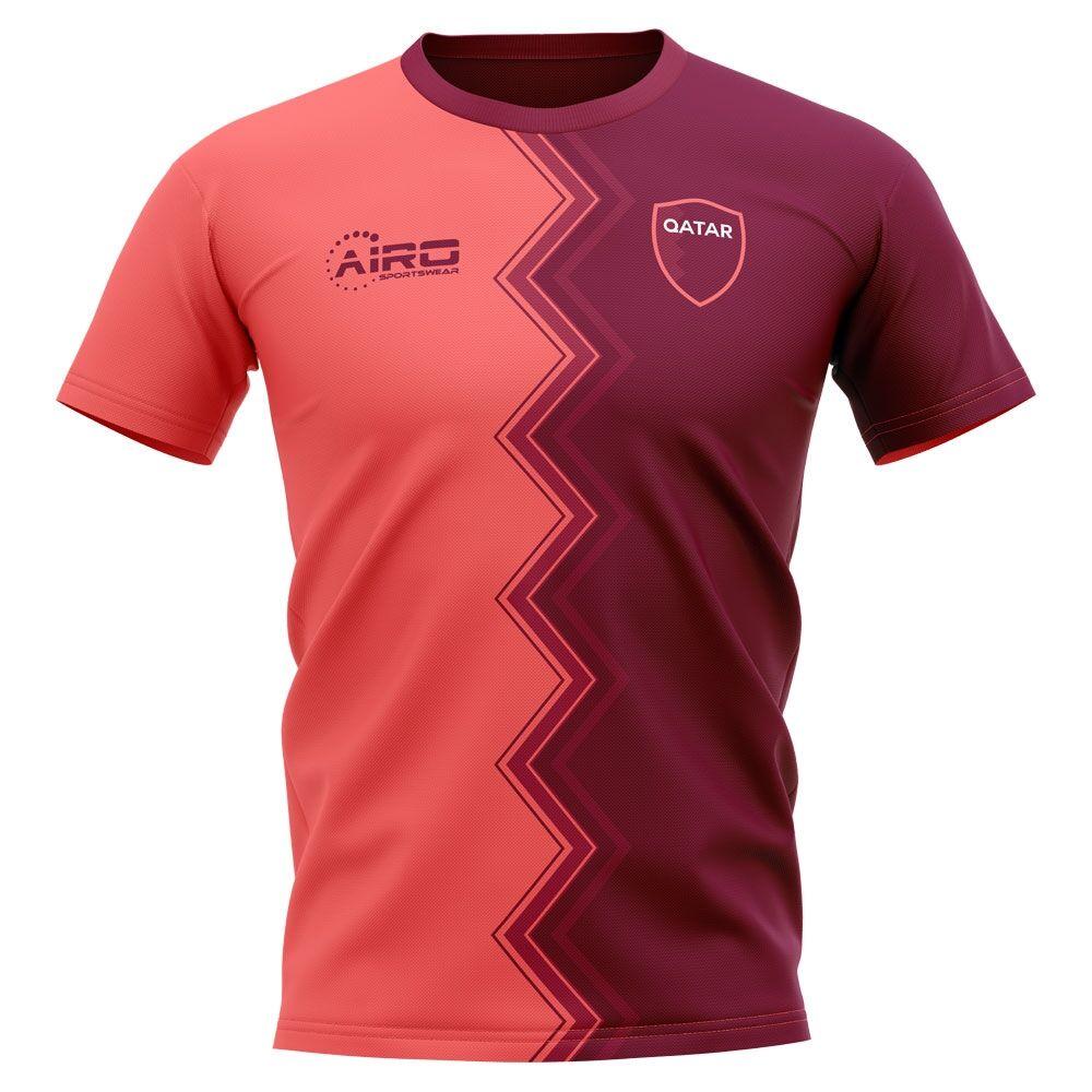 Airo Sportswear 2020-2021 Qatar Away Concept Football Shirt - Womens - White - female - Size: XXL - UK Size 18