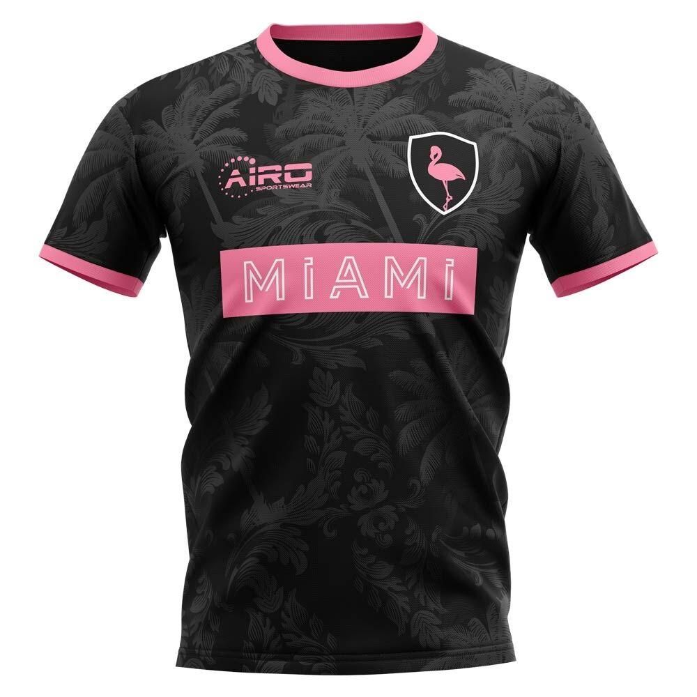 Airo Sportswear 2020-2021 Miami Home Concept Football Shirt - Womens - White - female - Size: XL - UK Size 16