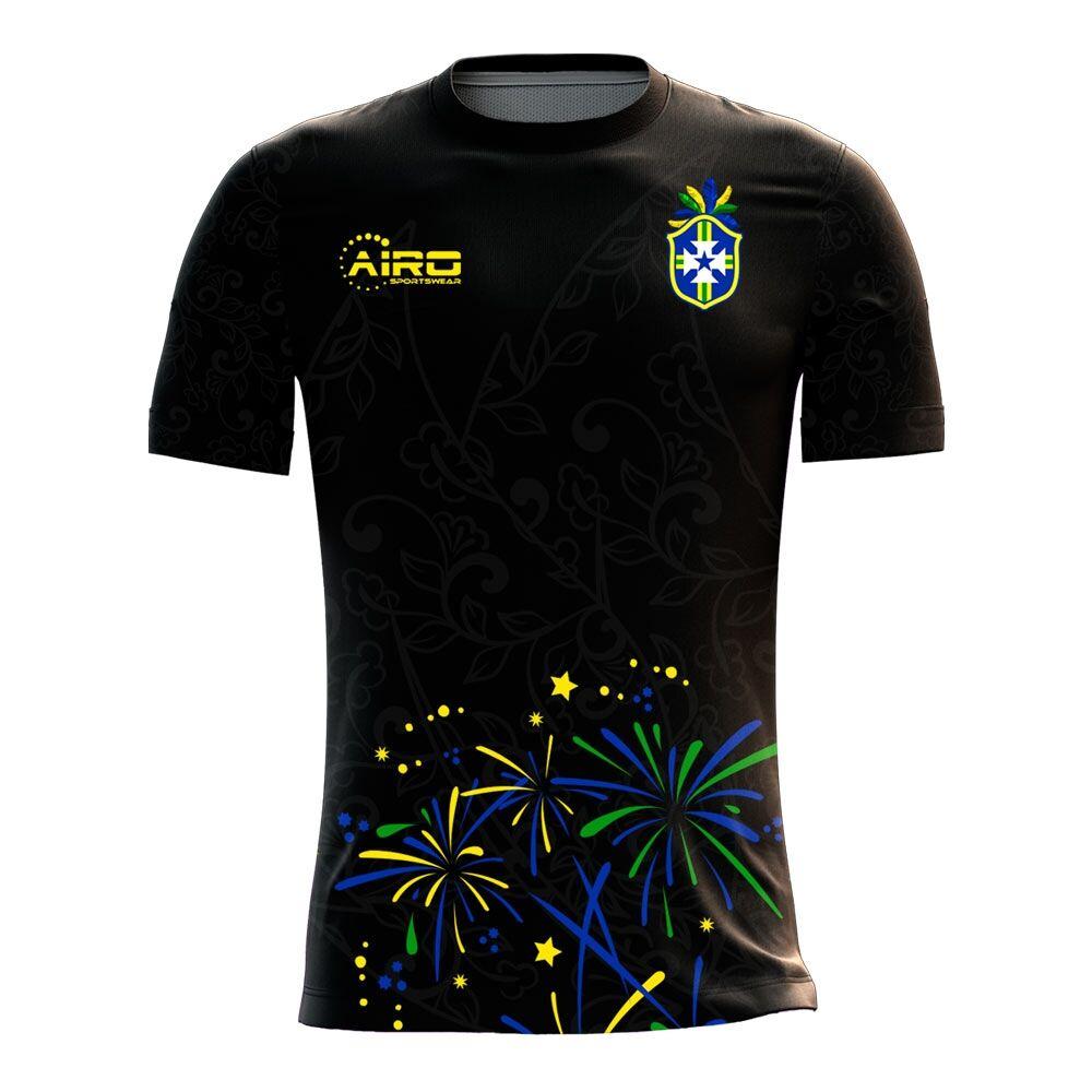 Airo Sportswear 2020-2021 Brazil Third Concept Football Shirt - Womens - Blue - female - Size: XXL - UK Size 18