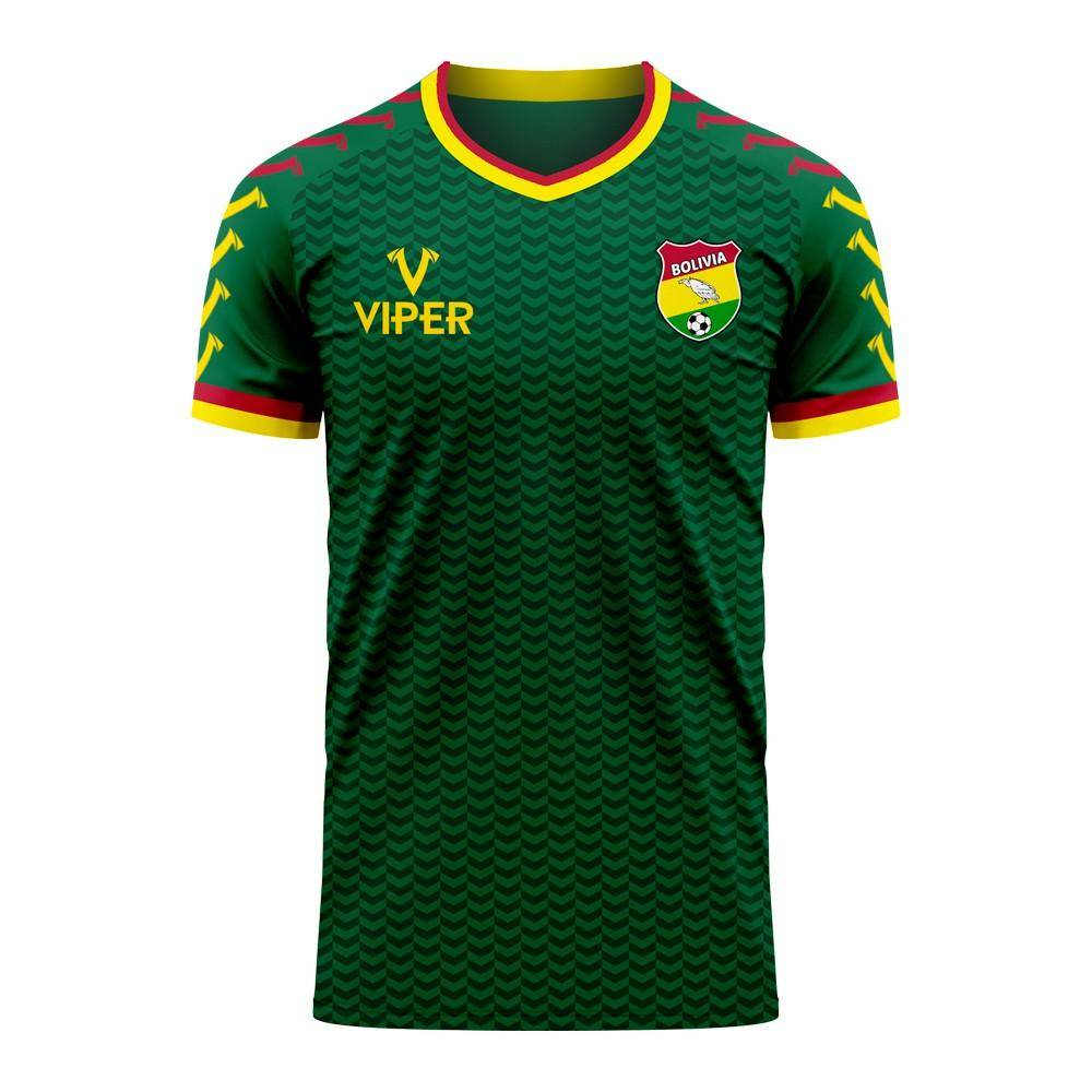 Viper Sportswear Bolivia 2020-2021 Home Concept Football Kit (Viper) - Womens - Green - female - Size: XL - UK Size 16