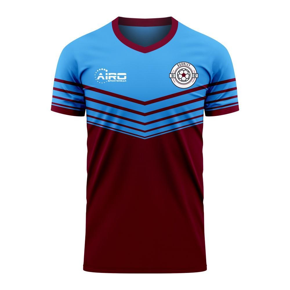 Airo Sportswear Burnley 2020-2021 Home Concept Football Kit (Airo) - Womens - Maroon - female - Size: Large - UK Size 14