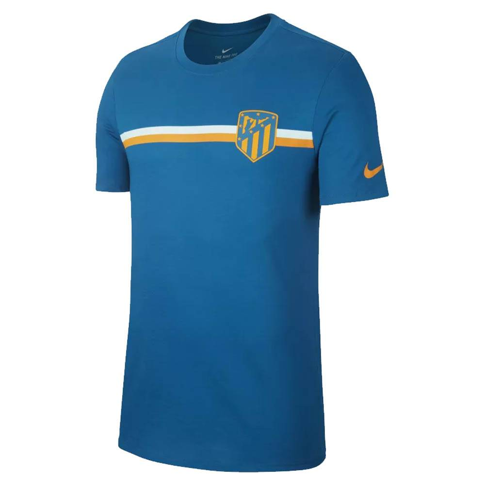 Nike 2018-2019 Atletico Madrid Nike Crest Tee (Green Abyss)