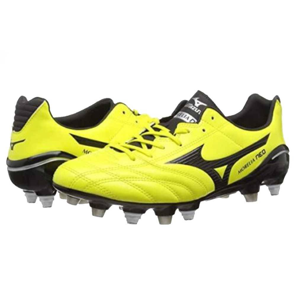 Mizuno Monarcida NEO PS MIX Mens Football Boot (Bolt) - Yellow - male - Size: UK 8 (42 EU)