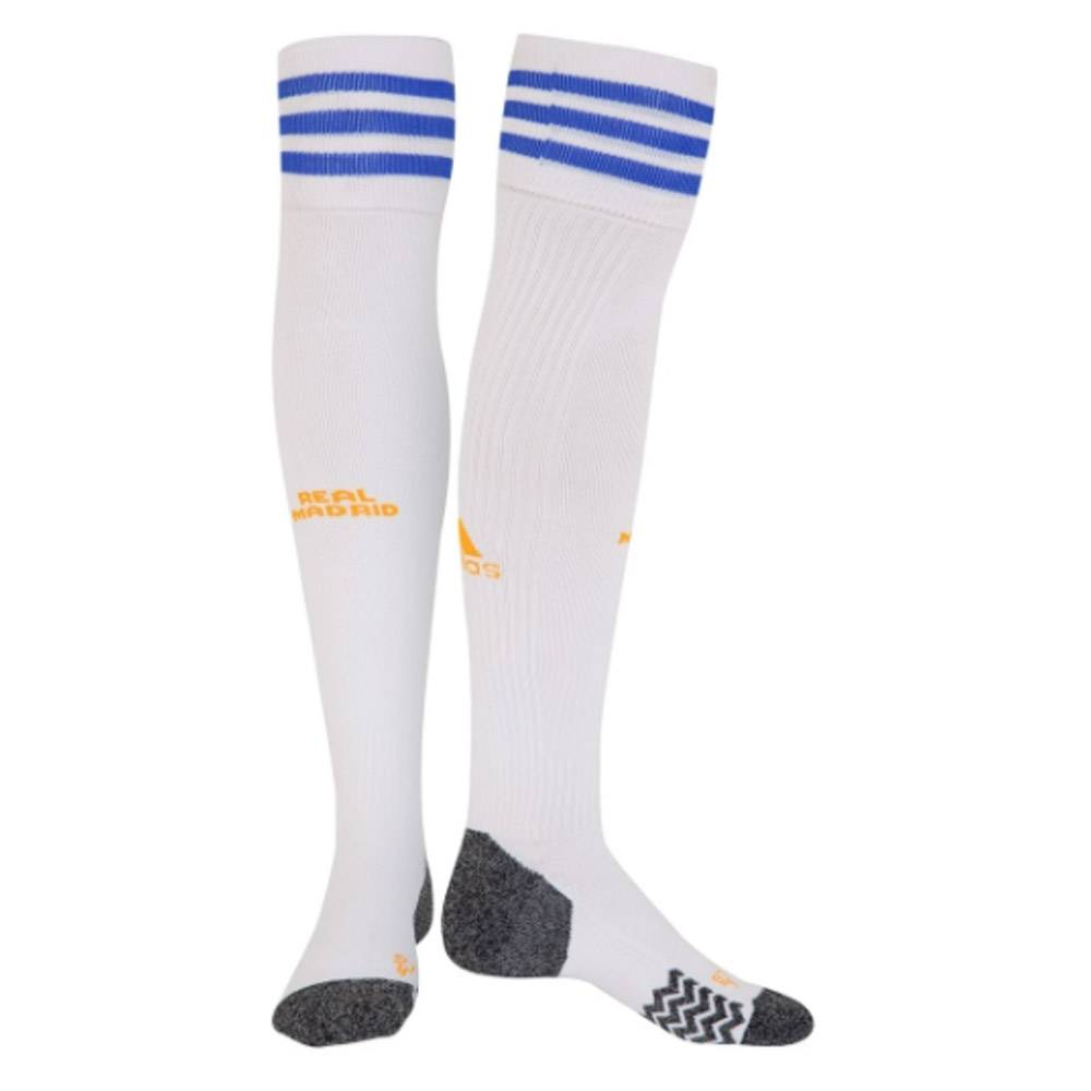 adidas Real Madrid 2021-2022 Home Socks (White) - White - male - Size: MB 12-2 UK Foot