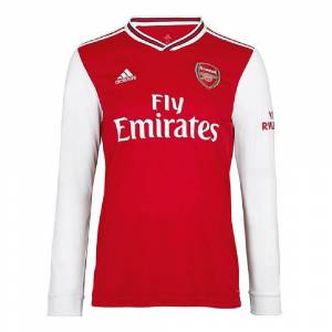 """adidas 2019-2020 Arsenal Adidas Home Long Sleeve Shirt - Red - male - Size: Small 36-38\"""" Chest"""
