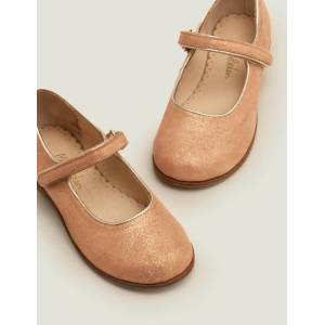 Mini Party Mary Janes Pink Girls Boden  - Female - Pink - Size: 26