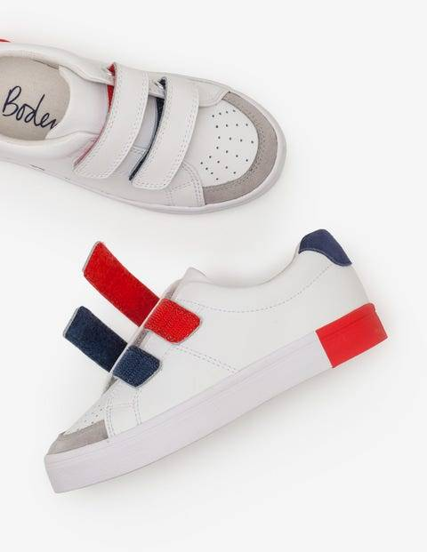 Mini Leather Low Tops White Boys Boden Leather Size: 36