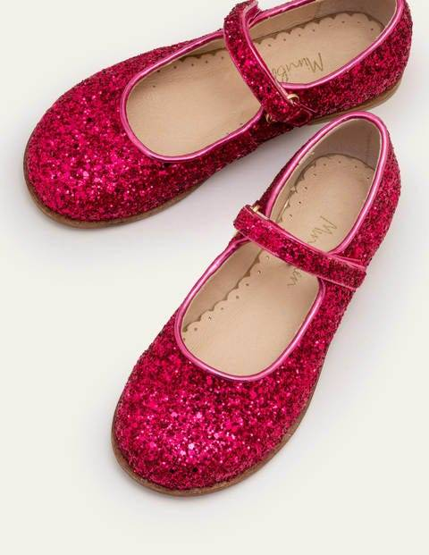 Mini Party Mary Janes Multi Girls Boden  - Female - Pink - Size: 26