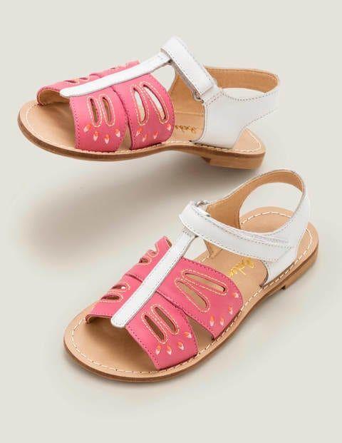 Mini Fun Leather Sandals Multi Girls Boden Leather Size: 24