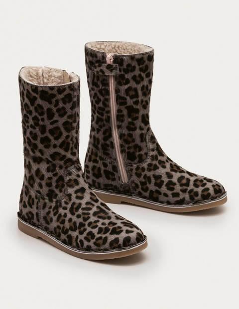 Mini Tall Boots Blue Girls Boden  Size: 34
