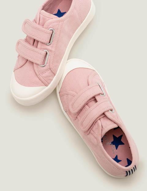Mini Double Strap Canvas Shoes Pink Boys Boden Sole Size: 35