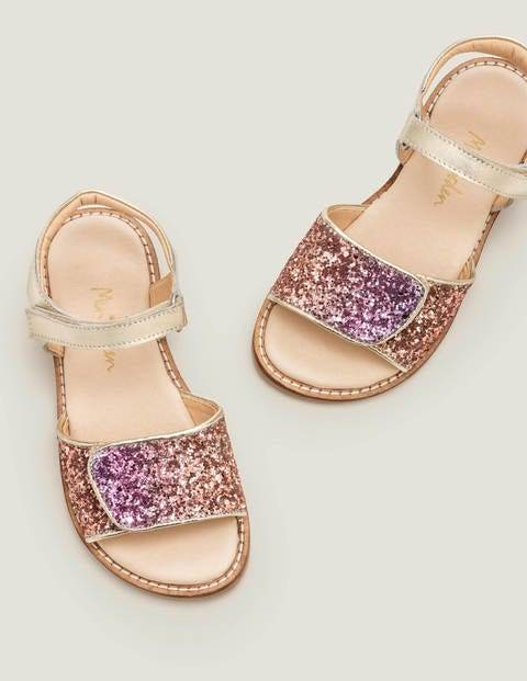 Mini Leather Padded Sandals Multi Girls Boden Leather Size: 24