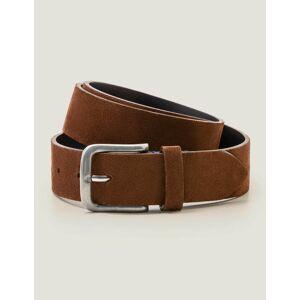 Boden Suede British Belt Brown Men Boden Leather Size: 42-44