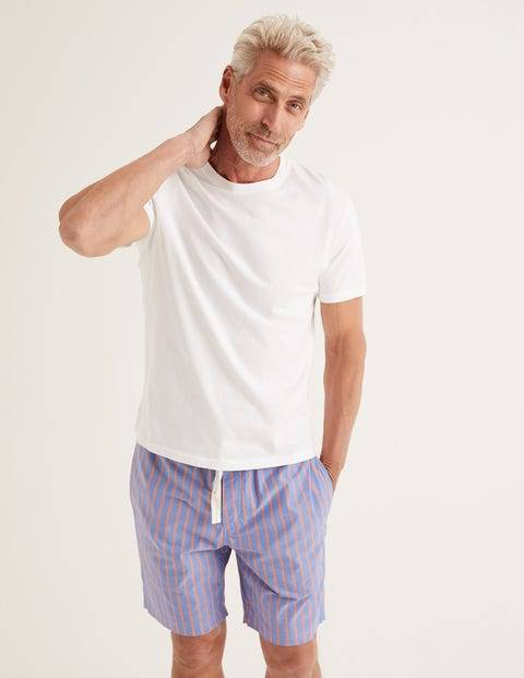Boden Washed T-shirt White Men Boden