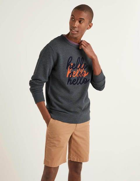 Boden Irvine Sweatshirt Multi Men Boden  - Male - Multi - Size: Medium