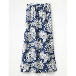 Boden Juliette Maxi Skirt Blue Women Boden  - Female - Blue - Size: Large