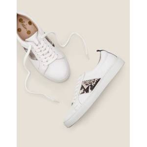 Boden Classic Trainers Natural Women Boden Leather Size: 37
