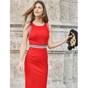 Boden Zada Ottoman Dress Red Women Boden  - Female - Red - Size: Large