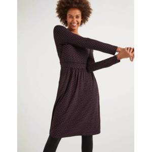 Boden Abigail Jersey Dress Purple Women Boden  - Female - Purple - Size: 10 Petite