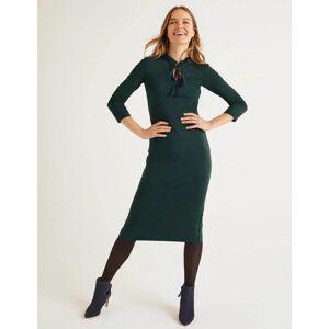 Boden Layla Ponte Dress Green Women Boden  - Female - Navy - Size: 16 R