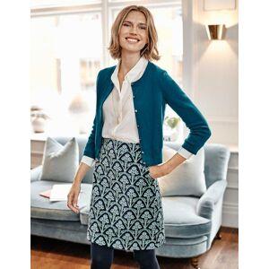 Boden Mimi Velvet Skirt Grey Women Boden  - Female - Grey - Size: Large