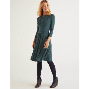 Boden Mira Jersey Dress Green Women Boden  - Female - Green - Size: Large