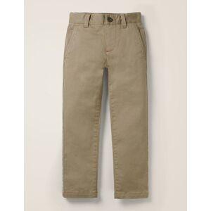 Mini Chino Stretch Trousers Yellow Women Boden  - Female - Yellow - Size: 5y