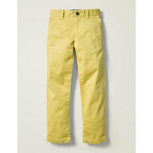 Mini Chino Trousers Yellow Women Boden  - Female - Yellow - Size: 7y