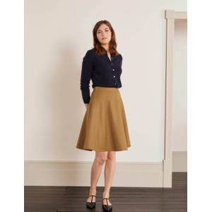 Boden Fairlie Full Mini Skirt Navy Women Boden  - Female - Navy - Size: Large