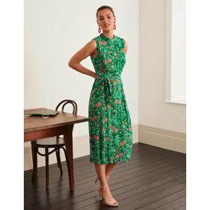 Boden Zada Midi Dress Green Women Boden  - Female - Green - Size: 18