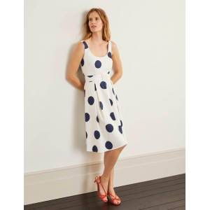 Boden Winifred Dress Ivory Women Boden  - Female - Ivory - Size: 22 R
