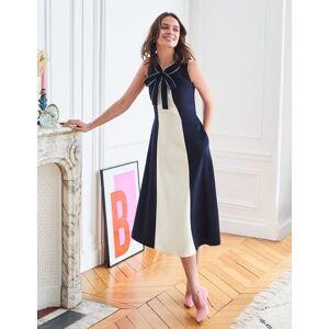 Boden Elise Ponte Dress Navy Women Boden  - Female - Navy - Size: 6 Petite