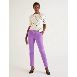 Boden Richmond 7/8 Trousers Purple Women Boden  - Female - Purple - Size: 22 R