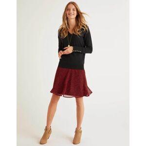 Boden Astolat Mini Skirt Black Women Boden  - Female - Black - Size: Large