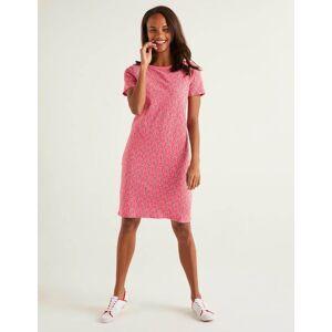 Boden Georgia Jersey T-shirt Dress Pink Women Boden  - Female - Camel - Size: 20 R