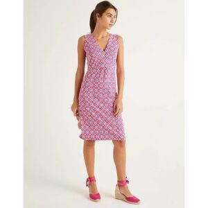 Boden Eden Jersey Dress Pink Women Boden  - Female - Pink - Size: 22 R