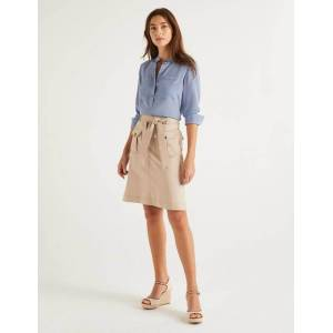 Boden Cecily Skirt Brown Women Boden  - Female - Brown - Size: Large