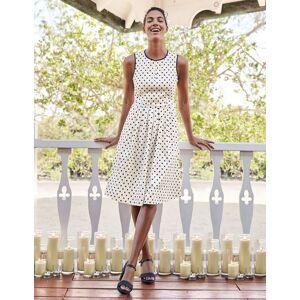 Boden Maddie Dress Navy Women Boden  - Female - Navy - Size: 6 Petite