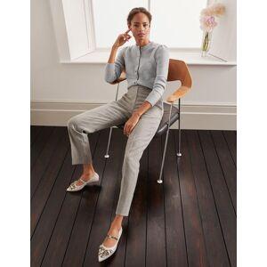 Boden Kennford Tweed Trousers Blue Women Boden Wool Size: 6 R
